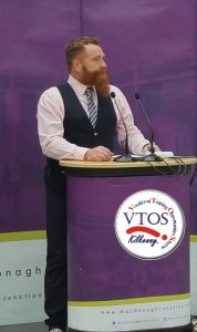 Peter OCarroll wood working tutor VTOS Kilkenny